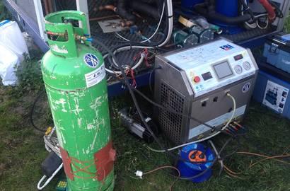 Použití systému Fri 3 oil v provozu u zákazníka