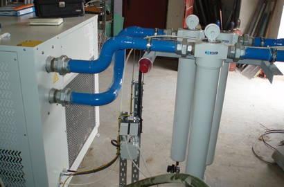 filtrace za sušičem vzduchu