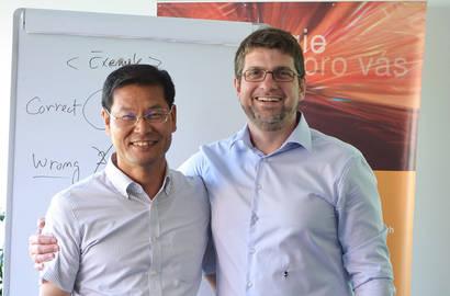 Pan Kyechang Lee a Jiří Rach