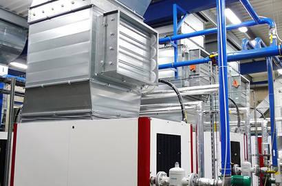 Rozšíření kompresorové stanice