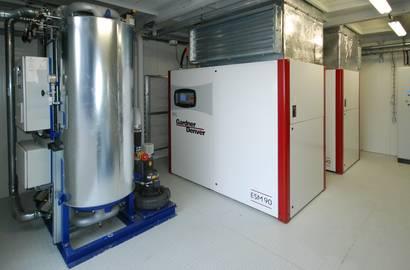 Hotová kompresorová stanice –2x kompresor GD
