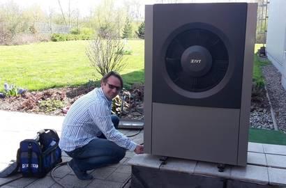 Servis tepelného čerpadla AIR X