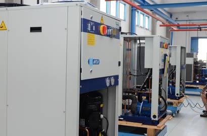 Výroba chladičů MTA